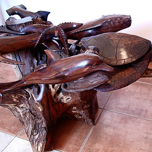 Ironwood Coffee Table Sealife