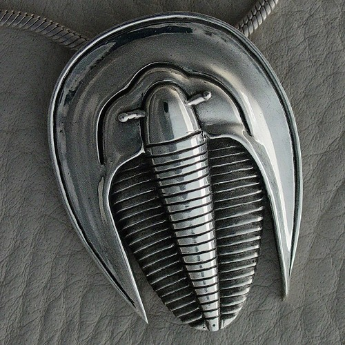 Trilobite In Sterling Silver