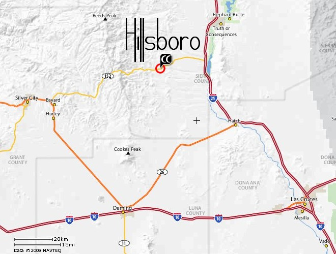 Southern NM Map